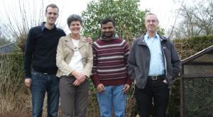 Fr. Bapu bij zijn bezoek aan Nederland.